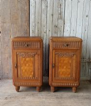 Art deco bedside tables - SOLD